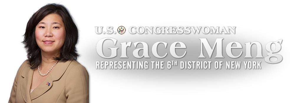 Congresswoman Grace Meng Representing The 6th District Of New York
